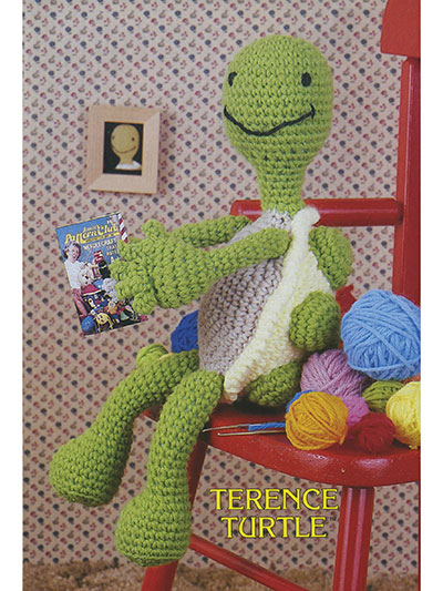 Terence Turtle Crochet Pattern