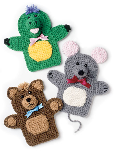 Puppet Friends Crochet Pattern
