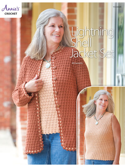 Lightning Shell Jacket Set Crochet Pattern