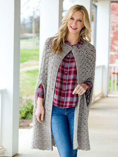 Fog Cutter Cape Crochet Pattern