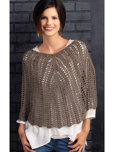 Tiffany Poncho Crochet Pattern