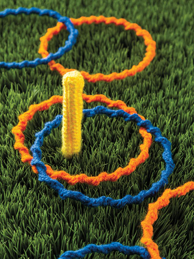 Ring Toss Game Crochet Pattern