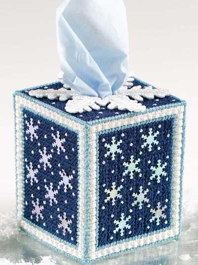 Ice Crystals Tissue Cover