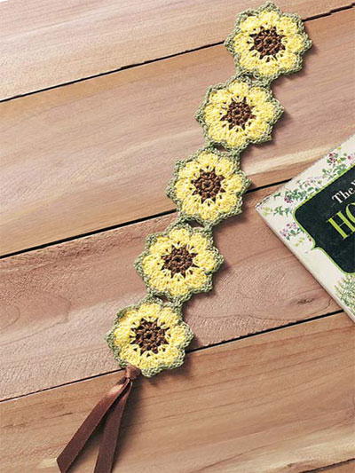 Sunflower Bookmark
