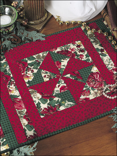 Quilting kitchen patterns place mat patterns for Kitchen quilting ideas
