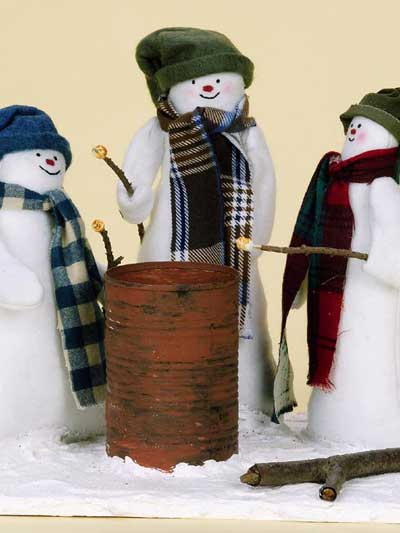Snowman Friends Display