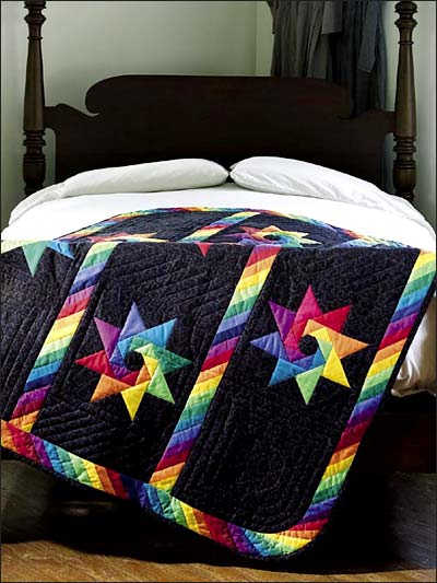 Quilting bed quilt patterns amish quilt patterns for Bed quilting designs