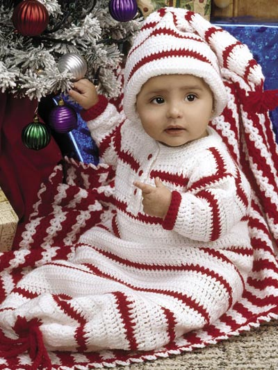 Red & White Layette