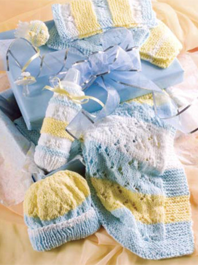Shower Baby With Gifts