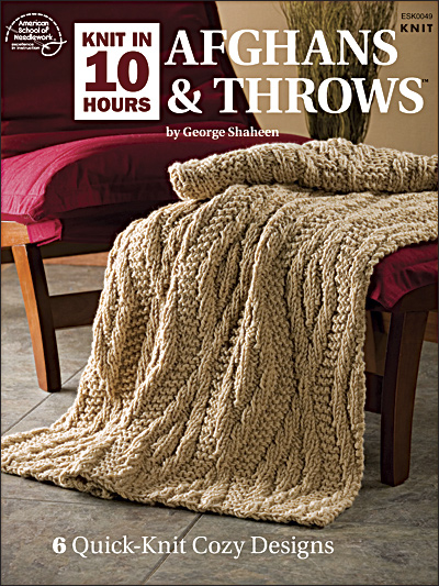 Knit in 10 Hours: Afghans & Throws