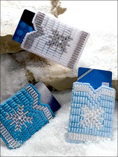 Snowflake Gift Card Sleeves