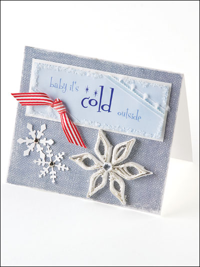 Baby It's Cold Card