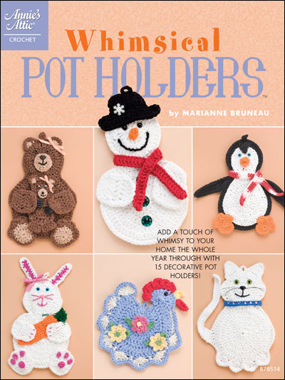 Crocheting Pot Holders : Whimsical Pot Holders - Crochet Pot Holder Patterns