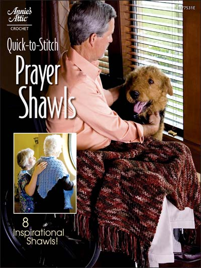 Quick-to-Stitch Prayer Shawls