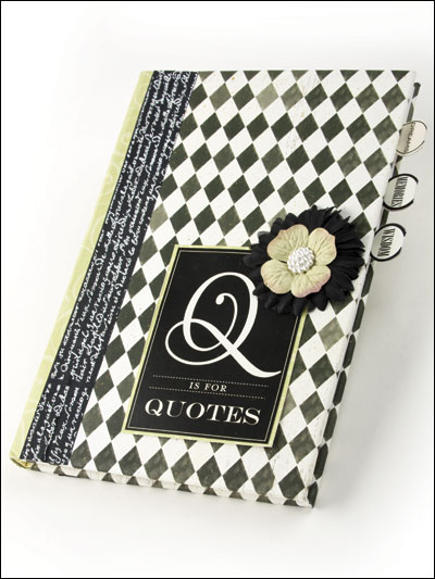 Q is for Quotes Quote Book