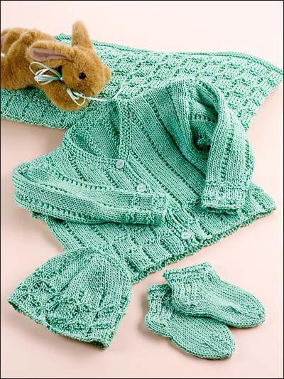 Knitting Patterns Of Baby Sets : Knitting - Baby & Children Patterns - Patterns for Outfit Sets - Precious...