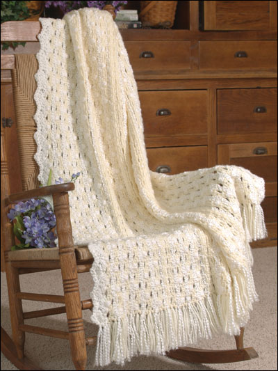 Bridal Ribbons Afghan