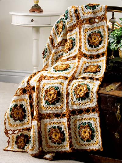 Autumn Lace Afghan