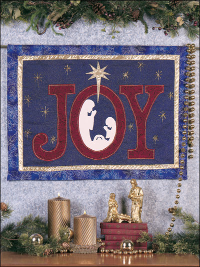 Joy Nativity Banner