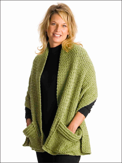Quick & Easy Cozy Crochet Wrap