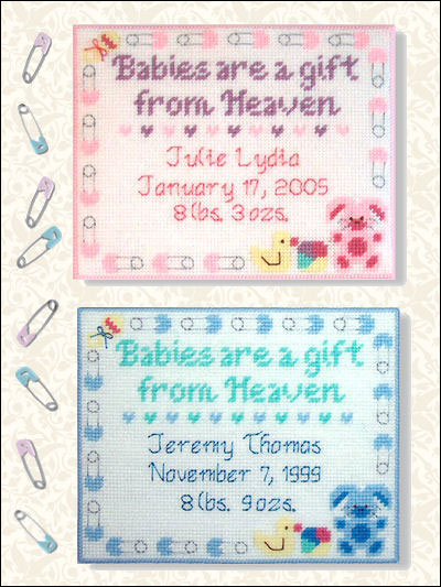 Baby Birth Samplers