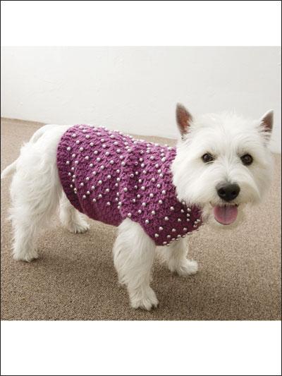 Crochet Pattern Central Dog Sweaters Pakbit For