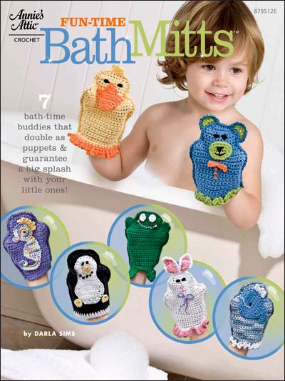 Fun-Time Bath Mitts
