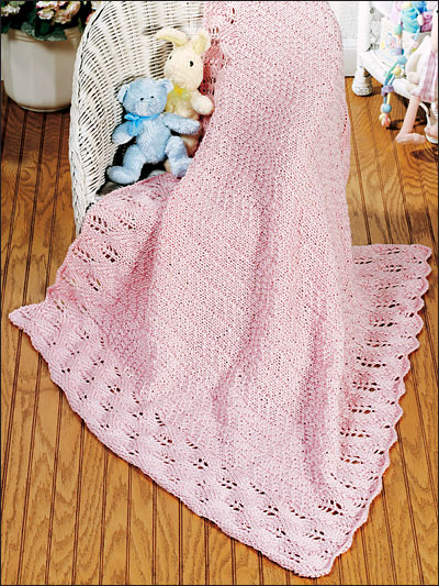 Precious in Pink Baby Blanket