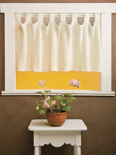 Irish Net Valance