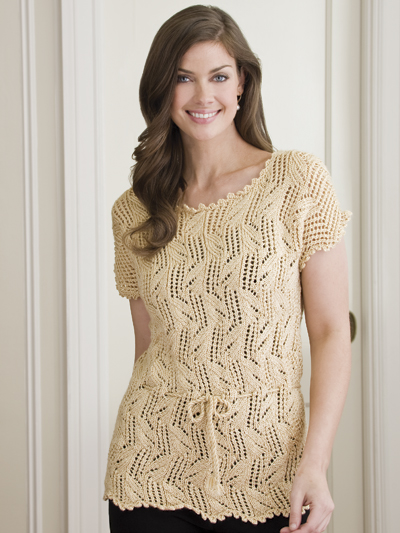 Lacy Leaves Tunic
