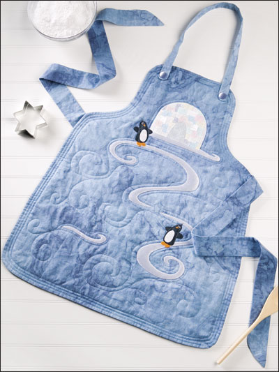 Sliding Penguins Apron
