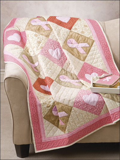 Ribbons of Hope Quilt