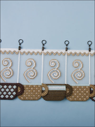 Coffee Cup Valance