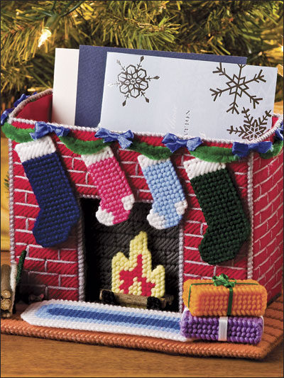 Fireplace Card Holder
