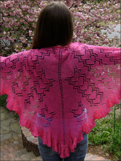 How Do I Love Thee? Lace Shawl