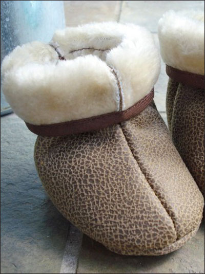 Fur Lined Boots for Babies