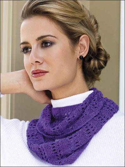 Easy Lace Cowl