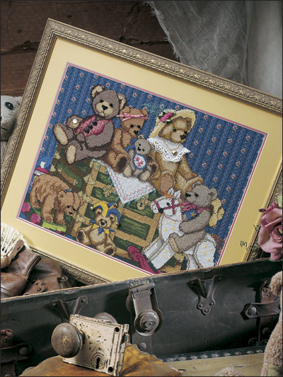 Teddy Bears in the Attic