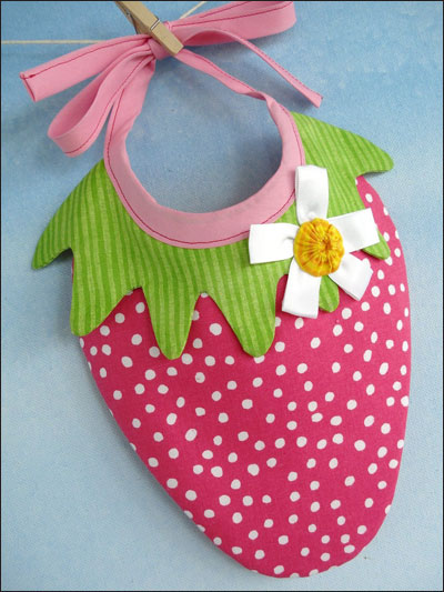 Strawberry & Watermelon Bibs