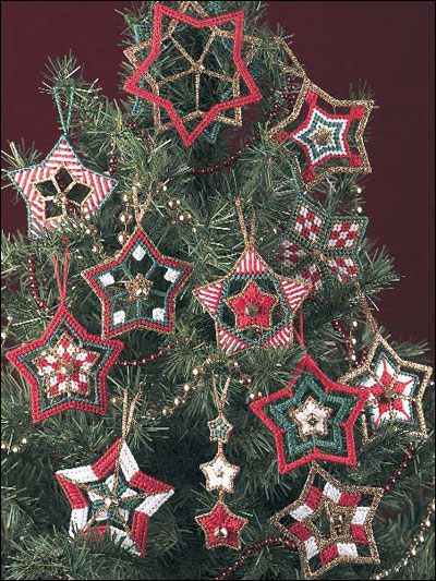 Christmas Stars Ornaments