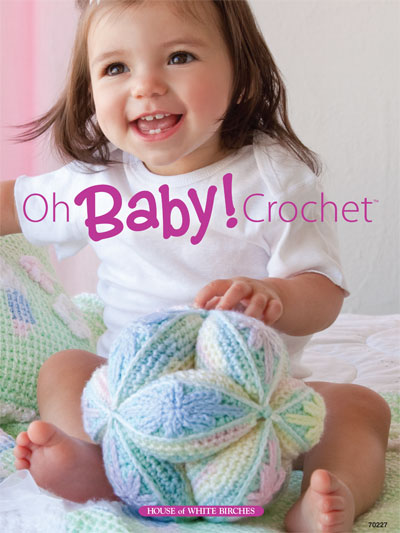 15 Patterns for Oh-So Cute Crocheted Baby Blankets