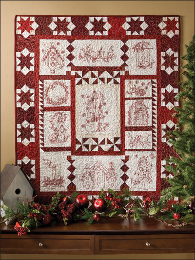 Christmas Twitterings Quilt