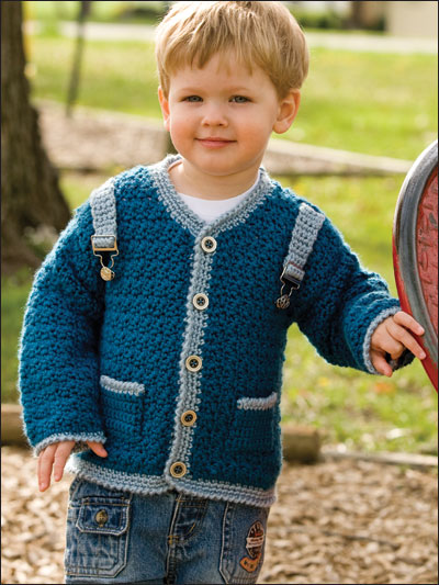 Little Boy Blue Sweater