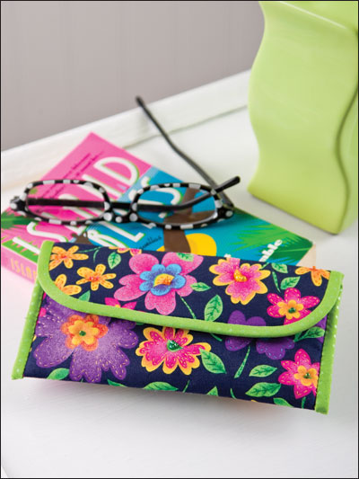 Flower Power Eyeglasses Case