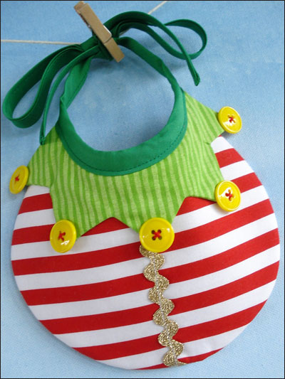 Elf, Tree & Ornament Bibs
