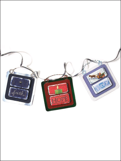 Domino Ornaments