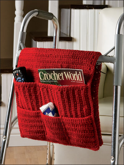 Crochet Walker Caddy Pattern