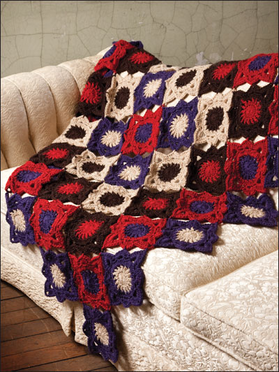 Inside-Out Afghan