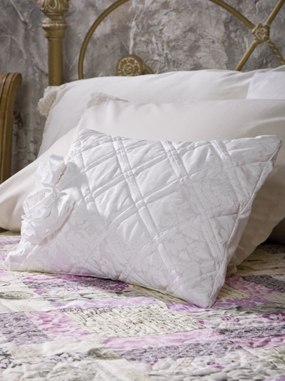 Damask Rose Pillow
