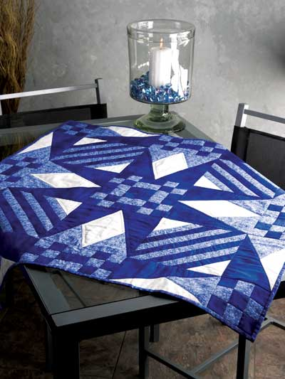 Easy Blue Table Topper